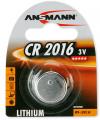 Pile bouton lithium Ansmann CR2016
