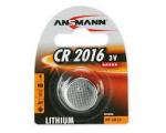 5 piles lithium Ansmann CR2016