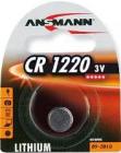 Pile bouton lithium Ansmann CR1220