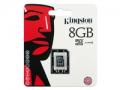 Carte m�moire Kingston Micro SDHC card 8GB classe 4