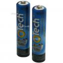 2 batteries de t�l�phone Otech AAA NI-MH 1,2V 750mAh